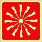 Pulsante Allarme Antincendio, Pittogramma